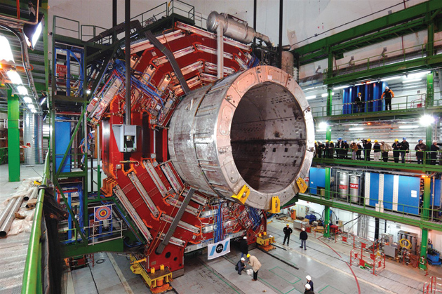 CERN's Large Hadron Collider under construction, 2007