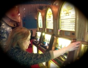 Mayo playing the slots