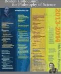 Boston Colloquium 2013-2014