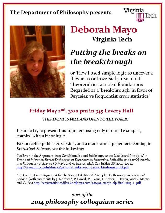 Mayo poster